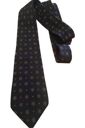 Loewe Navy Silk Ties