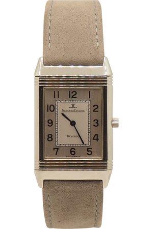 Jaeger-LeCoultre Reverso Quartz Steel Watch for Women