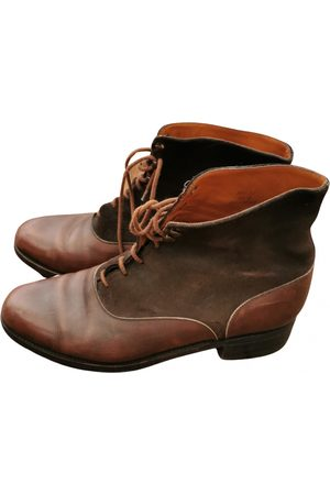 J.M. Weston VINTAGE \N Leather Ankle boots for Women