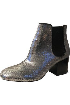 Diane von Furstenberg \N Glitter Ankle boots for Women