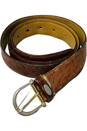 LANCEL \N Leather Belt for Men