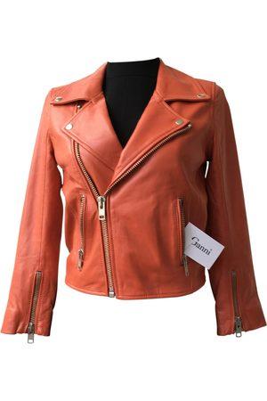 Ganni \N Leather Jacket for Women
