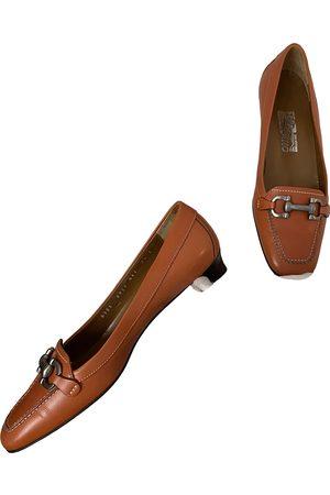 Salvatore Ferragamo VINTAGE \N Leather Mules & Clogs for Women
