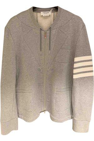 Thom Browne Grey Cotton Knitwear & Sweatshirts