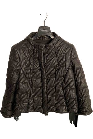 Gray Matters \N Leather Jacket for Women
