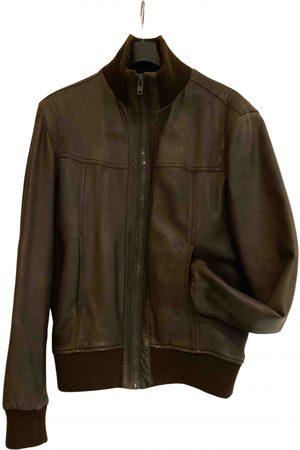Carven \N Leather Jacket for Men