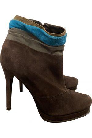 Diane von Furstenberg \N Suede Ankle boots for Women