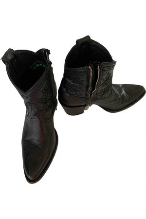 Mexicana \N Leather Ankle boots for Women