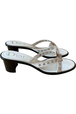 Dior \N Leather Mules & Clogs for Women
