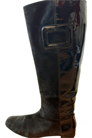 Roger Vivier Leather western boots