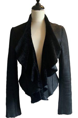 Diane von Furstenberg \N Leather Coat for Women