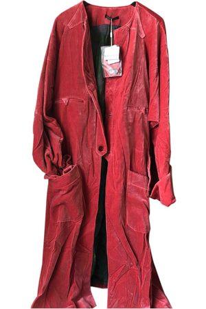 YOHJI YAMAMOTO Men Coats - Velvet Coats