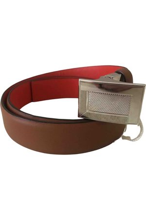 LANCEL \N Leather Belt for Women