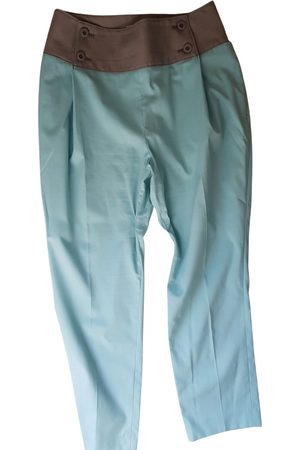 Issey Miyake \N Cotton Trousers for Women