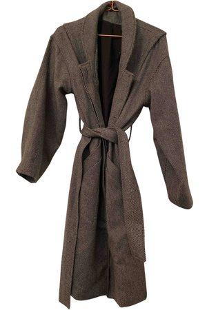 Gestuz Grey Wool Coats
