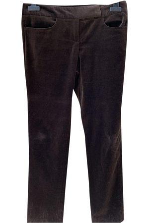 Diane von Furstenberg \N Velvet Trousers for Women
