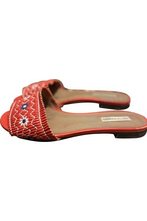 Tabitha Simmons \N Leather Flats for Women