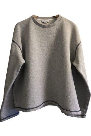 SUNNEI Grey Cotton Knitwear & Sweatshirts