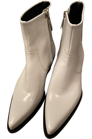 Calvin Klein \N Leather Ankle boots for Women