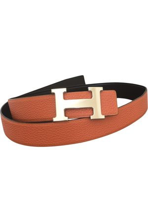 Hermès H Leather Belt for Women