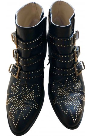 Chloé Susanna Leather Ankle boots for Women