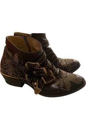 Chloé Susanna Leather Boots for Women