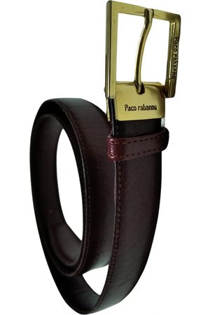 Paco rabanne VINTAGE \N Leather Belt for Women