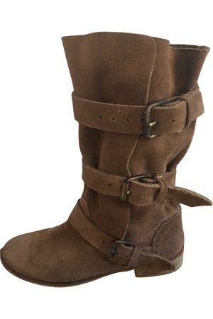 Maje \N Pony-style calfskin Boots for Women
