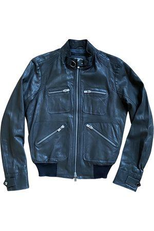 DRUMOHR \N Leather Jacket for Men