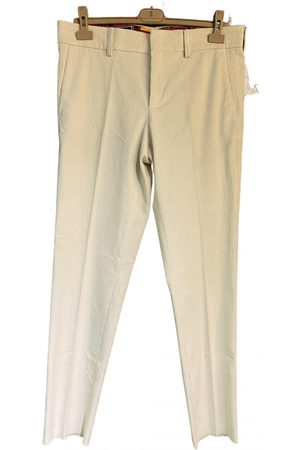 Stella Jean \N Cotton Trousers for Men