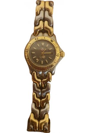 Tag Heuer Link Lady Gold plated Watch for Women