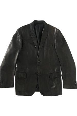 Salvatore Ferragamo \N Leather Jacket for Men