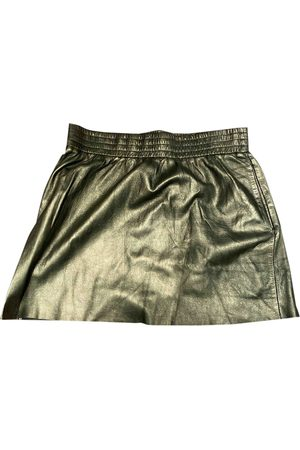 Maje \N Leather Skirt for Women