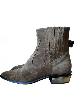 KATE CATE \N Suede Ankle boots for Women
