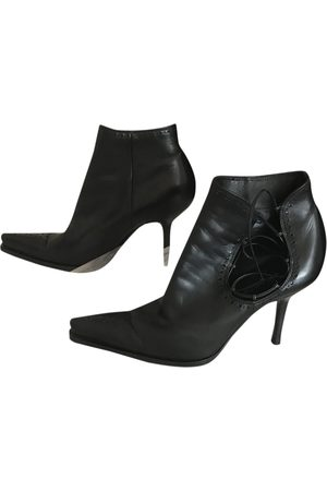 Sergio Rossi \N Leather Ankle boots for Women