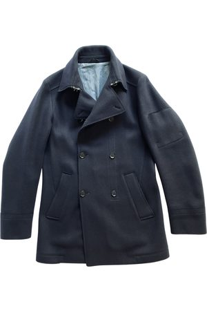 Kenzo Navy Wool Coats