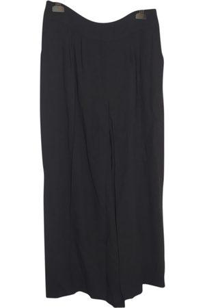 DRIES VAN NOTEN \N Wool Trousers for Women