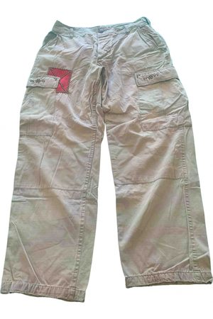 Army VINTAGE \N Cotton Trousers for Women