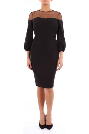 Access Women Dresses - WOMEN'S 293536570NERO POLYESTER DRESS