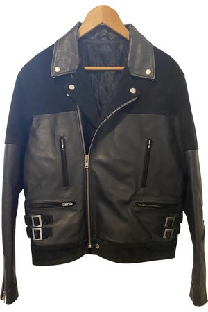 Sandro Men Leather Jackets - \N Leather Jacket for Men