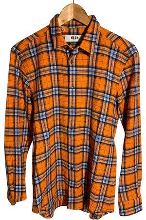 Msgm \N Wool Shirts for Men