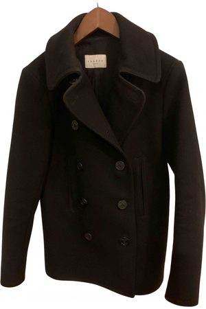 Sandro \N Wool Coat for Men