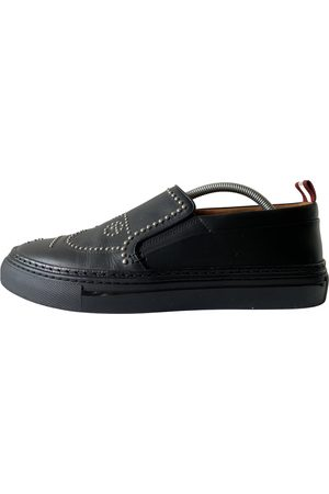 Bally Men Sneakers - \N Leather Trainers for Men