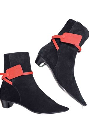 OFF-WHITE \N Suede Boots for Women