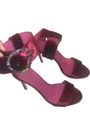 OSCAR TIYE \N Velvet Sandals for Women