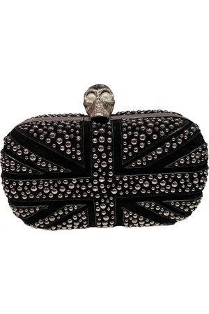 Alexander McQueen Skull Metal Clutch Bag for Women