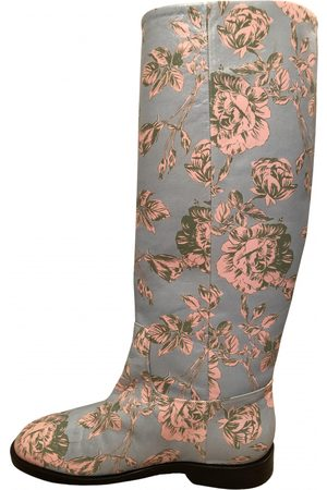 DELPOZO \N Leather Boots for Women