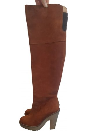 Ganni \N Suede Boots for Women