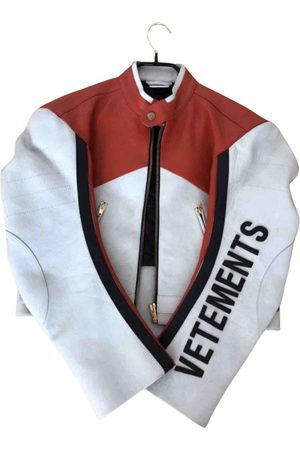 Vetements \N Leather Jacket for Men