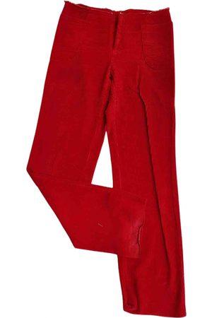 Maison Martin Margiela \N Velvet Trousers for Women